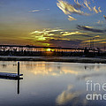 Lowcountry Marina Sunset by Dale Powell