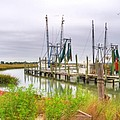 Lowcountry Shrimp Dock by Scott Hansen