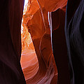 Lower Antelope Slot Canyon 11 by Jean Clark