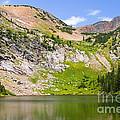 Lower Crater Lake by Steve Krull