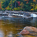 Lower Falls On The Swift River by Jeff Sinon