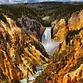 Lower Falls Yellowstone by Dan Sproul