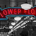 Lower Floor Selective Black And White by Scott Campbell