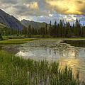 Lower Ice Lake by Alan Vance Ley