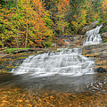 Lower Kent Falls Square by Bill Wakeley