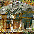 Lower-level Tomb In Myra-turkey by Ruth Hager