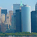 Lower Manhattan by Douglas J Fisher