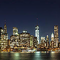 Lower Manhatten Pano by Wolfgang Woerndl