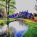 Lower Slaughter 1 by Ron Harpham