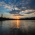 Lower Sunset Lake by Dianne Phelps