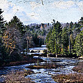 Lower Tahquamenon Falls Michigan by Evie Carrier