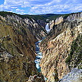 Lower Yellowstone Falls Panorama by Catherine Sherman