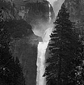 Lower Yosemite Falls Bw by Patrick Witz
