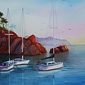 Lowered Sails by Patricia Novack
