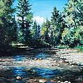 Lowry Creek Run by Mike Worthen