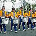 Lsu Marching Band by Steve Harrington