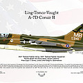 Ltv Ling Temco Vought A-7d Corsair II by Arthur Eggers