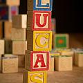 Lucas - Alphabet Blocks by Edward Fielding
