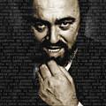 Luciano Pavarotti by Tony Rubino