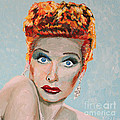 Lucille Ball Portrait by Robert Yaeger