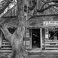Luckenbach 2 Black And White by Scott Norris