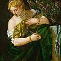 Lucretia by Paolo Veronese