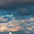 Ludington North Breakwater Lighthouse At Sunrise by Sebastian Musial