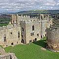 Ludlow Castle Chapel And Great Hall by Tony Murtagh