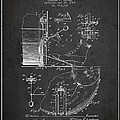 Ludwig Foot Pedal Patent Drawing From 1909 - Dark by Aged Pixel