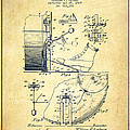 Ludwig Foot Pedal Patent Drawing From 1909 - Vintage by Aged Pixel