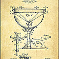 Ludwig Kettle Drum Drum Patent Drawing From 1941 - Vintage by Aged Pixel