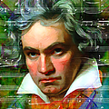 Ludwig Van Beethoven 20140122v2 by Wingsdomain Art and Photography