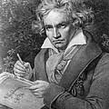 Ludwig Van Beethoven by Joseph Carl Stieler