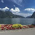 Lugano By Lago Di Lugano by Radka Linkova