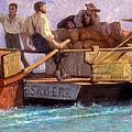 Luggage Boat by F.L.D. Bocion