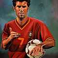 Luis Figo by Paul Meijering