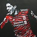 Luis Suarez - Liverpool Fc 2 by Geo Thomson