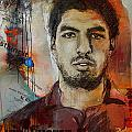 Luis Suarez by Corporate Art Task Force
