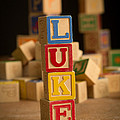 Luke - Alphabet Blocks by Edward Fielding