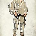 Luke Skywalker - Mark Hamill  by Inspirowl Design
