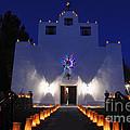 Luminarias At St Francis De Paula by Vivian Christopher