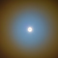 Lunar Corona In The Clouds by Alan Dyer