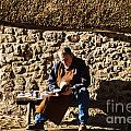 Lunch Break At The Forge by Susie Peek