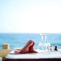 Lunch On The Beach by Wojciech Olszewski