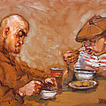 Lunchtime At Tim  by Ylli Haruni