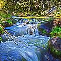 Lundy Creek Flow by Frank Lee Hawkins