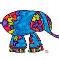Lupita Elephant by Emily Lupita Studio