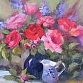Luscious Roses by Karin  Leonard