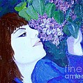 Lush Lilacs by Laurie Morgan
