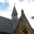 Luss Church Steeple by Nancy L Marshall